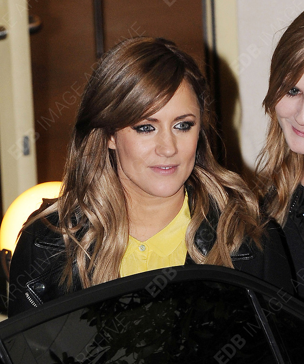 14.OCTOBER.2012. LONDON<br /> <br /> CAROLINE FLACK LEAVING THE X-FACTOR STUDIOS AFTER THE RESLUTS SHOW.<br /> <br /> BYLINE: EDBIMAGEARCHIVE.CO.UK<br /> <br /> *THIS IMAGE IS STRICTLY FOR UK NEWSPAPERS AND MAGAZINES ONLY*<br /> *FOR WORLD WIDE SALES AND WEB USE PLEASE CONTACT EDBIMAGEARCHIVE - 0208 954 5968*