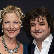 NLD/Amsterdam/20150126 - Premiere Michiel de Ruyter, cast, Frank Lammers, partner Eva Posthuma de Boer