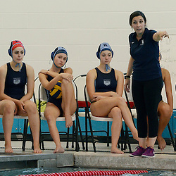 Episcopal Academy's head girls water polo coach Alicia Keating. (Times staff / TOM KELLY IV)