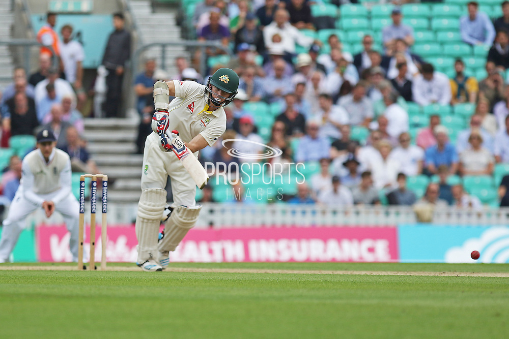 Chris Rogers of Australia during the 1st day of the 5th Investec Ashes Test match between England and Australia at The Oval, London, United Kingdom on 20 August 2015. Photo by Phil Duncan.