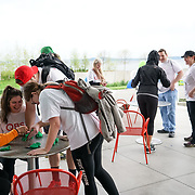 Seattle Sports Commission 5th Annual Seattle Urban Trek. Olympic Sculpture Garden activity. Photo by Alabastro Photography.