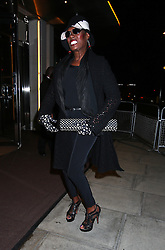 Supermodels Kate Moss and Naomi Campbell enjoy a night out at the 45 Park Lane Hotel in Mayfair, after attending the The Serpentine Gallery - summer party. The models were joined by Grace Jones, who later left via the backdoor with Kate at around 2am. London, UK. 27/06/2013<br />