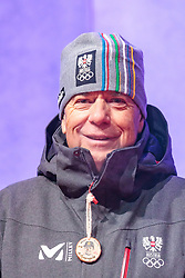 27.02.2018, Salzburg, AUT, PyeongChang 2018, ÖOC Medaillenfeier, im Bild ÖSV Präsident Peter Schröcksnadel // during a ÖOC medal celebration Party after the Olympic Winter Games Pyeongchang 2018 in Salzburg, Austria on 2018/02/27. EXPA Pictures © 2018, PhotoCredit: EXPA/ JFK