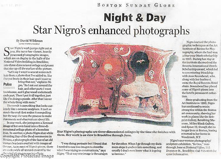 Sunday Boston Review<br /> <br /> www.StarNigro.com