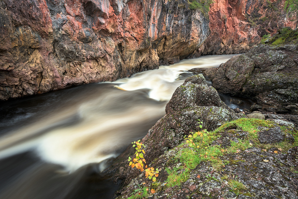 Stromschnellen Kiutaköngäs im Oulanka Nationalpark