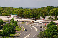 View of metro from Dulles Tech Office Building in Chantilly Virginia by Jeffrey Sauers of Commercial Photographics, Architectural Photo and Video Artistry