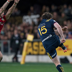 during game 4 of the British and Irish Lions 2017 Tour of New Zealand,The match between  Highlanders and British and Irish Lions, Forsyth Barr Stadium, Dunedin, Tuesday 13th June 2017<br /> (Photo by Kevin Booth Steve Haag Sports)<br /> <br /> Images for social media must have consent from Steve Haag