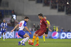 February 12, 2019 - Roma, Roma, Italia - Foto Luciano Rossi/AS Roma/ LaPresse.12/02/2019 Roma (Italia).Sport Calcio.AS Roma - Porto  .Uefa Champions League 2018 2019 - Stadio Olimpico di Roma.Nella foto: Lorenzo Pellegrini, Felipe..Photo  Luciano Rossi/AS Roma/ LaPresse.12/02/2019 Roma (Italia).Sport Soccer.AS Roma - Porto   .Uefa Champions League 2018 2019 - Olimpic Stadium of Roma (Italy).In the pic: Lorenzo Pellegrini, Felipe (Credit Image: © Luciano Rossi/Lapresse via ZUMA Press)