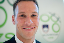 Dejan Kelhar at official presentation of Slovenian National Football team for World Cup 2010 South Africa, on May 21, 2010 in Congress Center Brdo at Kranj, Slovenia. (Photo by Vid Ponikvar / Sportida)