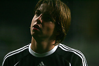 Photo: Andrew Unwin.<br /> Newcastle United v Fenerbahce. UEFA Cup. 19/10/2006.<br /> Newcastle's reserve goalkeeper, Tim Krul.