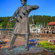 Statue in Gig Harbor - WA