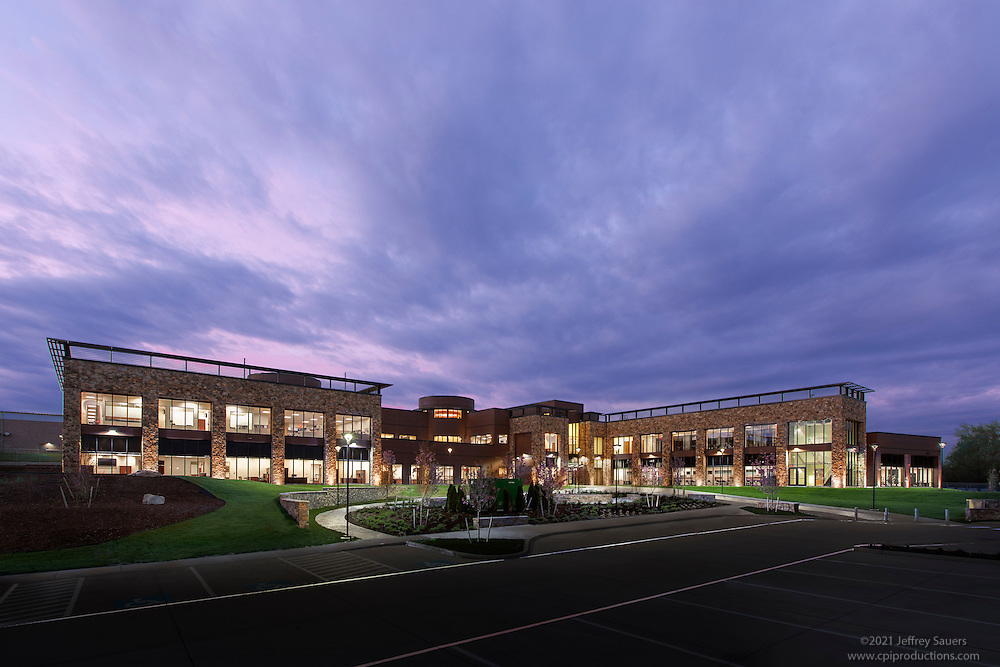 Architectural Image of the Joint Armed Forces Reserve Center ing Delaware by Jeffre Sauers of Commercial Photographics, Architectural Photo Artistry in Washington DC, Virginia to Florida and PA to New England