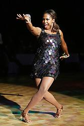 07.09.2013, Stadthalle Aschaffenburg, Aschaffenburg, GER, Night of the Stars, Galanacht mit Showacts, im Bild Motsi Mabuse, Gastgeberin des heutigen Abends (Profitaenzerin und Jurymitglied bei RTL Das Supertalent und RTL Let´s Dance),, ,  // during the gala night of the Night of the Stars at the cityhall in Aschaffenburg, Germany on 2013/09/07. EXPA Pictures © 2013, PhotoCredit: EXPA/ Eibner/ Bildpressehaus<br /> <br /> ***** ATTENTION - OUT OF GER *****