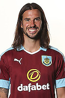 BURNLEY, ENGLAND - JULY 20:  George Boyd of Burnley poses during the Premier League portrait session on July 20, 2016 in Burnley, England. (Photo by Barrington Coombs/Getty Images for Premier League)