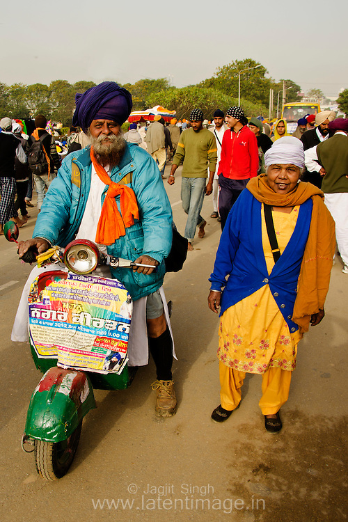 A sikh couple.