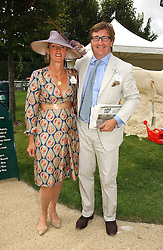 JOHN & ANOUSKA AYTON of Links of London at the 3rd day of the Glorious Goodrwood Racing festival 2006 - Ladies Day, at Goodwood Race course, West Sussex on 3rd August 2006.<br /><br />NON EXCLUSIVE - WORLD RIGHTS