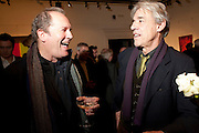 WILLIAM BOYD; ROGER LLOYD-PACK, Preview of  Lord and Lady Attenborough art works  at SothebyÕs. Donation from the evening to be made to RADA. New Bond St. London. 9 November 2009<br /> WILLIAM BOYD; ROGER LLOYD-PACK, Preview of  Lord and Lady Attenborough art works  at Sotheby's. Donation from the evening to be made to RADA. New Bond St. London. 9 November 2009