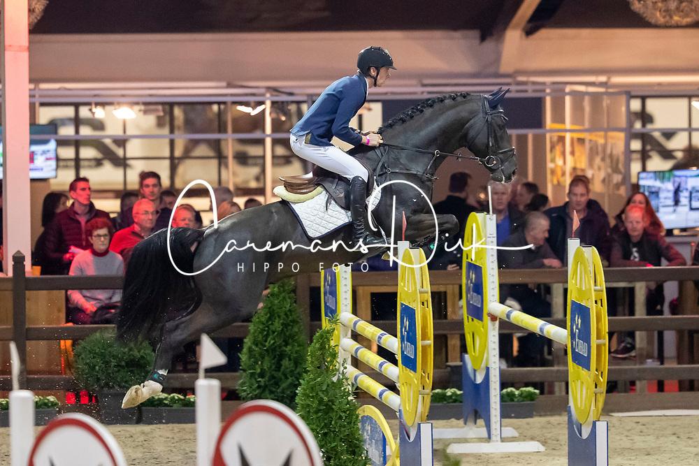 Everaert Sander, BEL, Ascot van de Helle<br /> Pavo Hengstencompetitie<br /> Azelhof Lier 2020<br /> © Hippo Foto - Dirk Caremans