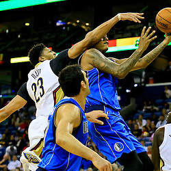 11-10-2015 Dallas Mavericks at New Orleans Pelicans