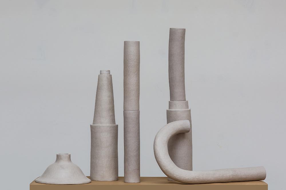 In Progress, clay objects.