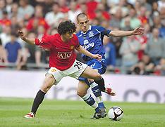 Man Utd v Everton FA Cup Final 2009