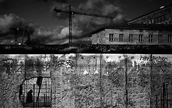 BERLIN, GERMANY, OCTOBER 27, 2013: Berlin Wall.