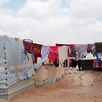 Jordan. Za'atri Camp for Syrian Refugees