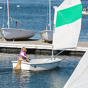Samantha's Sailing  at Sail Newport, , Rhode Island, USA, July22,2015.  Photo: Tripp Burman
