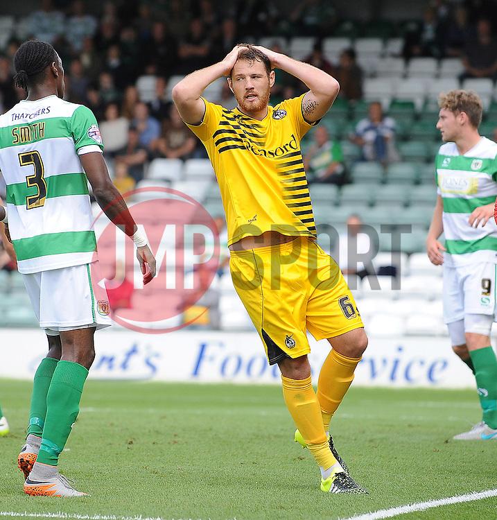 Tom Parkes of Bristol Rovers - Mandatory byline: Neil Brookman/JMP - 07966386802 - 15/08/2015 - FOOTBALL - Huish Park -Yeovil,England - Yeovi Town v Bristol Rovers - Sky Bet League One