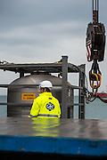 Loading of a propane tank