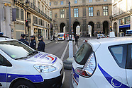 Paris - Machette Attack at the Louvre