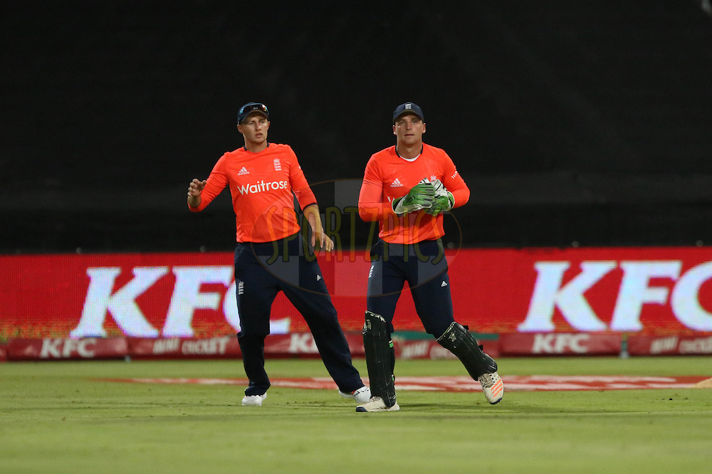 Joe Butler during the First KFC T20 Match between South Africa and England played at Newlands Stadium, Cape Town, South Africa on February 19th 2016