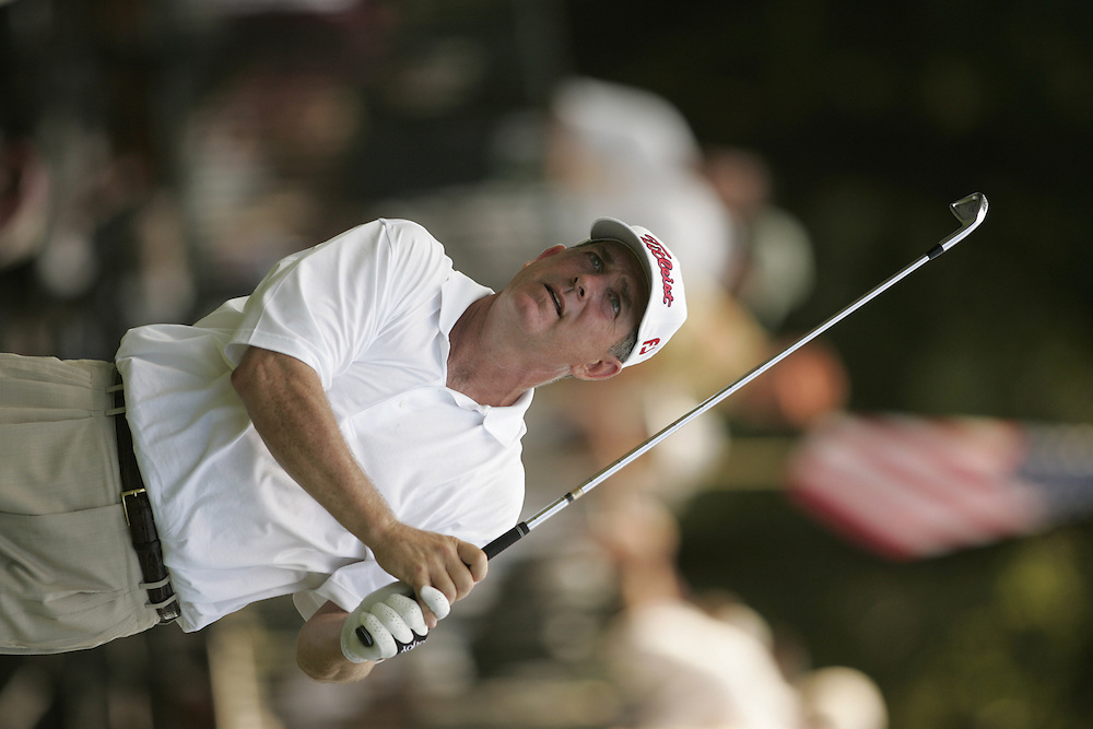 Jay Haas..2004 United States Senior Open.Final Round.Bellerive Country Club.St. Louis MO.Sunday, August 1 2004..photograph by Darren Carroll