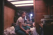 Cozy Caravan, Glastonbury, 1992.