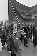 People's  March for Jobs, Yorkshire to London. Corby 20/05/1981