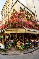 Restaurant Maison Sauvage in the St. Germain des Pres neighborhood, Left Bank, Paris, France.