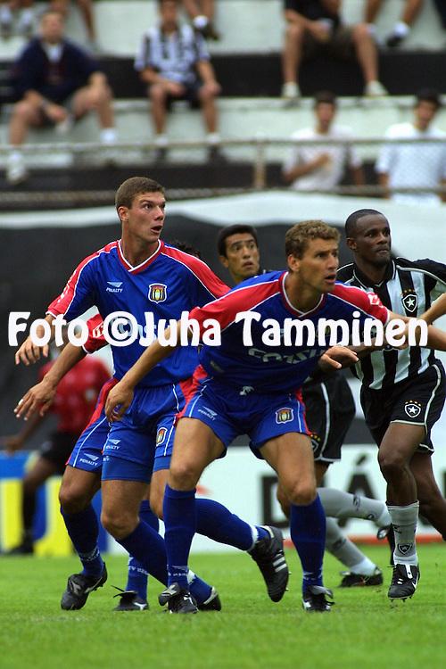 01.12.2001, Caio Martins Stadium, Niter--i, Brazil. Campeonato Brasileiro 2001 / Brazilian National Championship 2001, Botafogo FR v  AD S