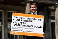 Labour challenge SNP rail policy | Edinburgh | 16 May 2017