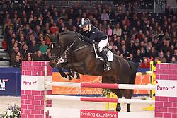 Kurten Jessica, (IRL), Zapatero VDL<br /> KWPN Henstenkeuring 's Hertogenbosch 2015<br /> © Dirk Caremans