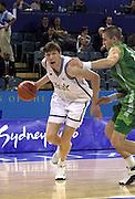 Olimpiadi Sydney 2000<br /> Italia - Lituania <br /> Nella foto: Gregor Fucka