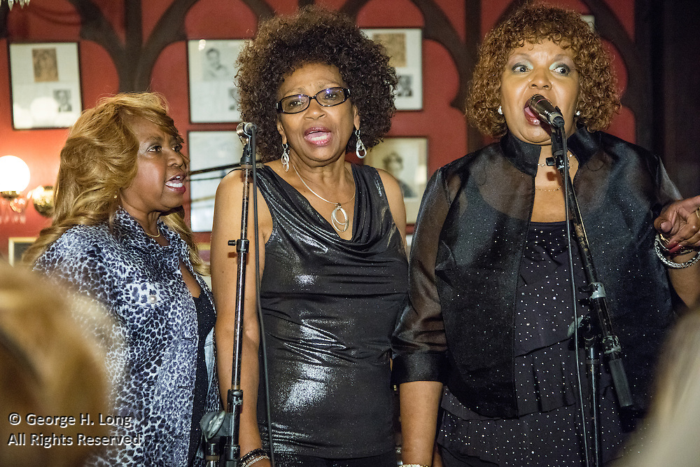 The Dixie Cups perform at the French Quarter Festival Gala at Antoine's Restaurant on April 7, 2016