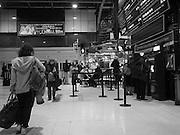 Marylebone station, London.  January 2017