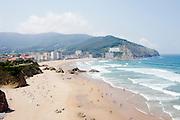 The beach in Bakio.