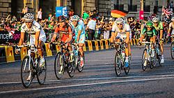 Paris, France - Tour de France :: Stage 21 - 21th July 2013 - GILBERT, EVANS & KITTEL in peloton