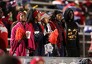 Bishop Dunne fans watch the action during the TAPPS Division I state championship game on Saturday, Dec. 3, 2016 at Panther Stadium in Hewitt, Texas. Bishop Lynch High School won 21-17. (Photo by Kevin Bartram)