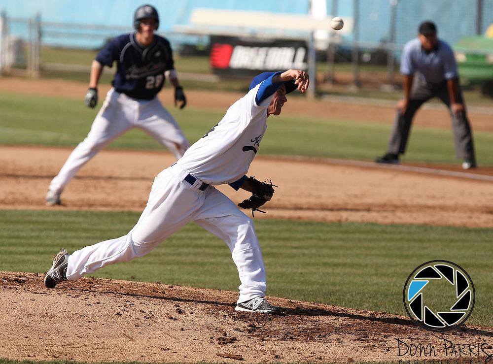 Ky Dye 2012 Area Code Baseball Blair Field August 8 2012 Long Beach CA (Donn Parris)