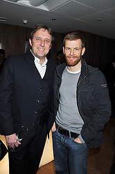 Left to right, chefs ANDREW TURNER and TOM AIKENS at the Grand Opening of Le Cordon Bleu's International Flagship School at 15 Bloomsbury Square, London WC1 on 7th February 2012.