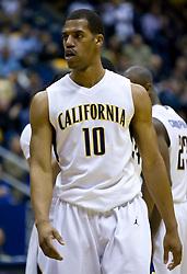 February 11, 2010; Berkeley, CA, USA;  California Golden Bears forward Jamal Boykin (10) during the first half against the Washington Huskies at the Haas Pavilion.  California defeated Washington 93-81.