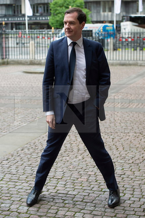 © Licensed to London News Pictures. 20/06/2019. London, UK. George Osborne attends a Service of Thanksgiving for Lord Haywood at Westminster Abbey. Jeremy Heywood served as Cabinet Secretary from 2012 and Head of the Home Civil Service until shortly before his death in 2018. Photo credit: Ray Tang/LNP