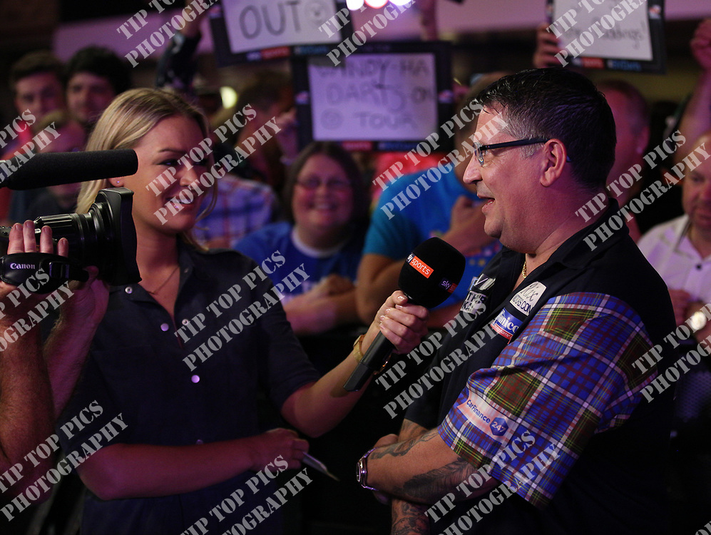 PDC WORLD MATCHPLAY 2017, DARTS, PDC, PDC DARTS, PIC : CHRIS SARGEANT, CHRISTIAN KIST, GARY ANDERSON, TIP TOP PICS, ANDERSON 10 - 7 KIST